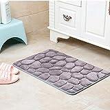 MOLUO Türmatte 1 stück Flanell-Made Kissen Wohnzimmer Bad Gadget weiche badematte mehrzweck marmor Muster Boden Carpet Bad Teppich Set @ a