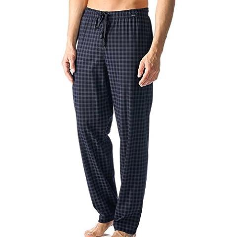Mey Mey Hombres Pantalones Hombres Noche tela escocesa de S-XXL - Indigo