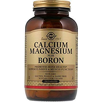 Solgar, Calcium Magnesium plus Boron Tablets, 250 - Plus Calcium