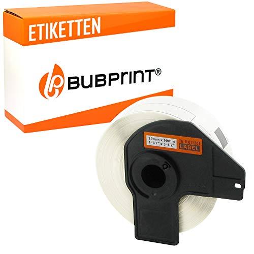 Bubprint Etiketten kompatibel für Brother DK-11201 DK 11201 für P-Touch QL1050 QL1060N QL500BW QL550 QL560 QL570 QL580N QL700 QL710W QL720NW QL810W
