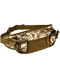 Street27 Outdoor Travel Hiking Camping Multiple Pockets Adjustable Strap Mini Waist Pack Utility Pouch Belt Bag... - B07GZJNMZC