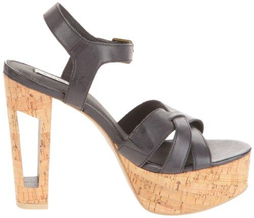Calvin Klein Jeans  JADINE LEATHER,  Sabot donna Nero (Schwarz (BLK))