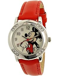 Disney Damen mck1089Mickey Maus rot Armbanduhr