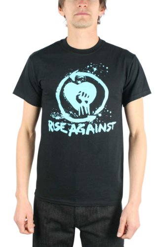 Rise Against, Heart Fist Guys-Maglietta, colore: nero nero