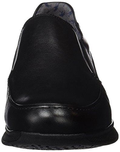 Fluchos 9821, Scarpe Senza Lacci Uomo Nero (Black)