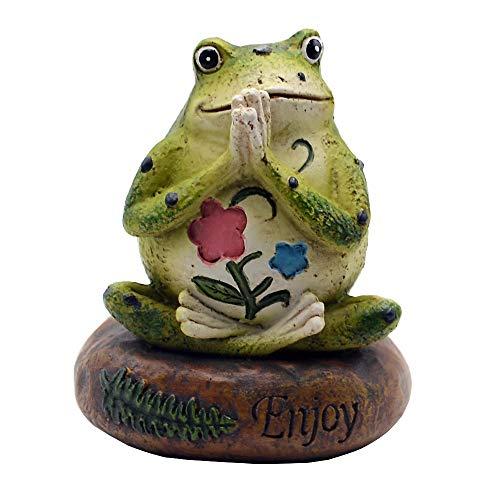 Von Hand Bemalt, Sind Mit Schreibtischen (HoDrme Yoga-Frosch Mehrfarbig)