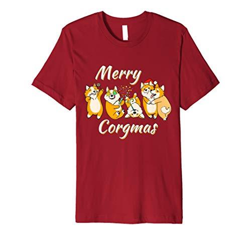 (Merry corgmas Outfit Weihnachten und Neu Jahr Party Edition)