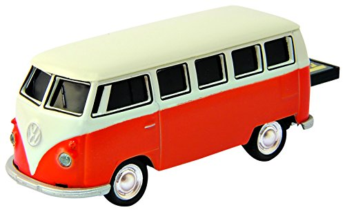 Autodrive (Auto Drive) USB-Speicher 8GB Volkswagen Classical Bus (Volkswagen Bus) orange 651814 - Automotive Computer-speicher