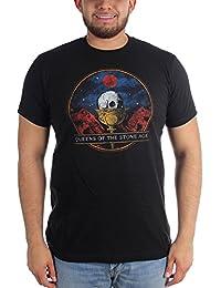 Queens Of The Stone Age - - Cáliz camiseta cabida de los hombres