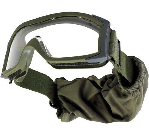 Bollé Ballistik Schutzmaske / Schutzbrille - X1000 Tactical olive - , mit Panorama-Sichtfeld