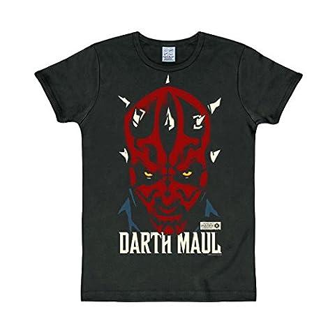 T-Shirt Darth Maul - Star Wars - Rundhals Shirt -