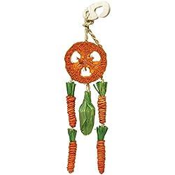 Rosewood Atrapasueñ zanahoria contra el aburrimiento para animales pequeños.