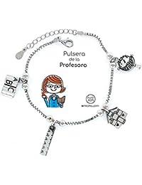 5c864093f002 Eres lo mas mujer Pulsera Profesora Plata