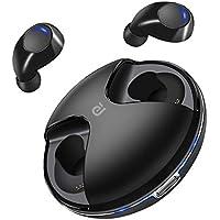 Auricolari Bluetooth, Cuffie Wireless Auricolare Bluetooth 4-5H Riproduzione Audio Deep Bass HD Sound Con Microfono Incorporato E Custodia Di Ricarica Portatile