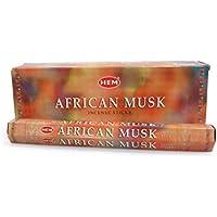 Räucherstäbchen African Musk Marke HEM 6 Packungen preisvergleich bei billige-tabletten.eu