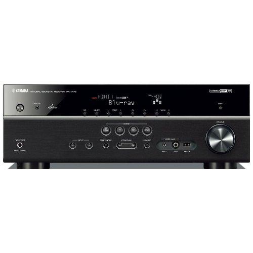 Yamaha RX-V475 Netzwerk AV-Receiver (5.1-Kanal, 115 Watt pro Kanal, MHL, DLNA, Dolby TrueHD, HDMI, AirPlay, USB) schwarz