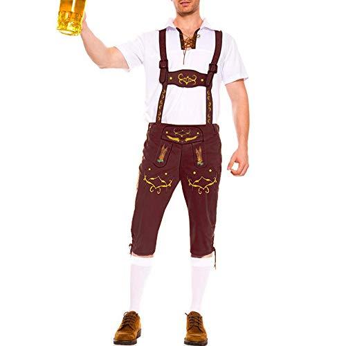 Puimentiua Trajes Alemán Hombre Traje Ropa Cerveza