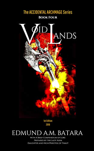 Book cover image for The Accidental Archmage: Book Four - Void Lands (The Accidental Archmage Series 4)