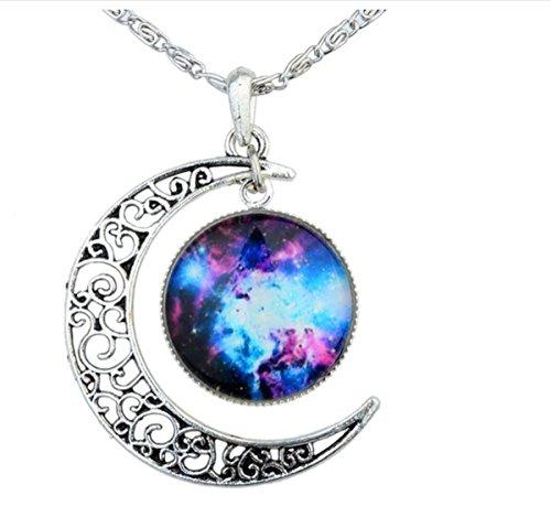 revenne-jewelry-crescent-moon-galaxy-universe-glass-cabochon-pendant-necklace-blue-whitelittle
