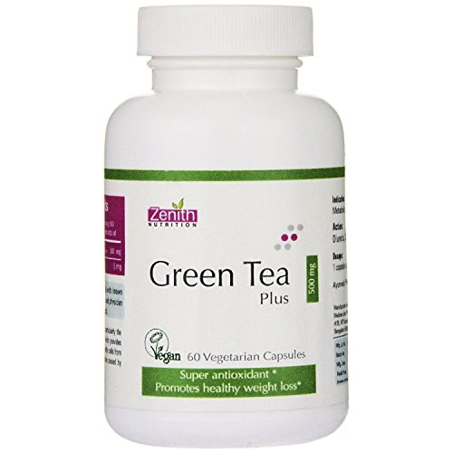 Zenith Nutrition Green Tea Plus 500 mg - 60 Caps