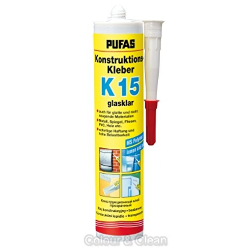 Pufas Konstruktions-Kleber K 15 Montagekleber Spiegelkleber Kraftkleber 300g