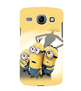 printtech Minions Back Case Cover for SAMSUNG Galaxy J7 - 6 (New 2016 Edition)