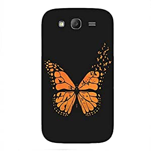 Back cover for Samsung Galaxy Grand Prime Free Bird Butterfly