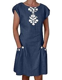 a6d93588f Amazon.es: vestido - Ropa de abrigo / Mujer: Ropa