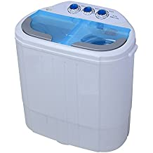 Howell HO.LP436 portable Top-load White washer dryer