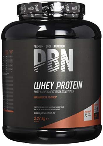 PBN Whey Protein Powder 2.27kg Strawberry