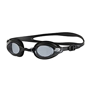 Speedo Unisex Adult Mariner Supreme Goggles, Black/Smoke, One Size