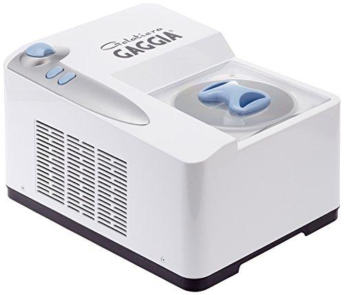 Preisvergleich Produktbild GAGGIA RI9101/01 Eismaschine Gelatiera weiss / ice-blue