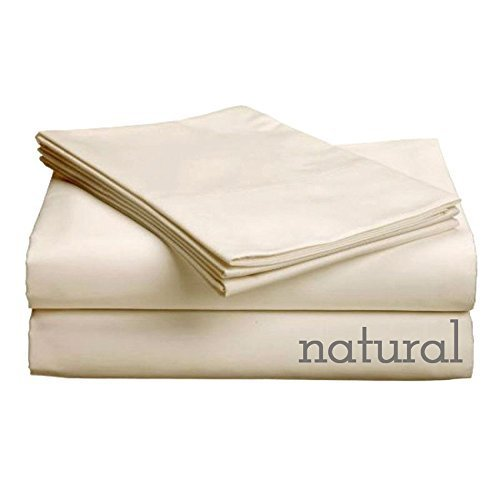 GotchaThe Pure Collection American Leather Comfort Sleeper Organic Cotton Sateen Sheet Set Queen Plus Natural by Gotcha - Comfort Sleeper