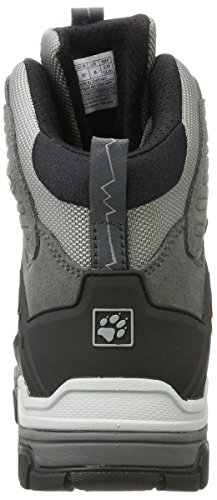 Jack Wolfskin Damen Impulse Texapore O2+ Mid W Trekking-& Wanderstiefel Grau (Tarmac Grey)