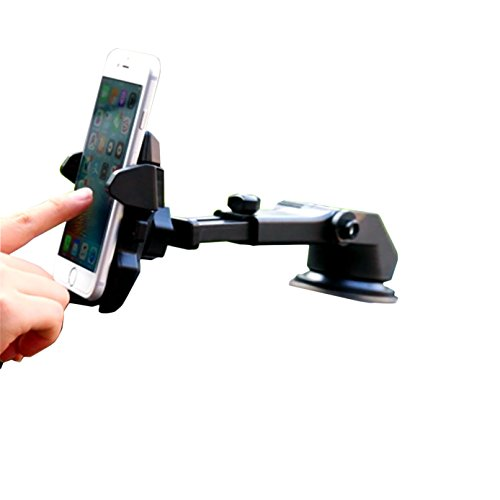 car-Phone-Mount, one-hand-design-car-phone-holder-for-iphone-x-8/8PLUS/7/7plus/6S/6Plus/5S, galaxy-s5/S6/S7/S8, s8plus, Google-Nexus, lg, Huawei-and-More-red, mount-black1p - Prepaid Wireless Phone