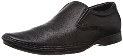 Fortune (from Liberty) Men's Black Leather Formals and Lace Up Shoes - 10 UK