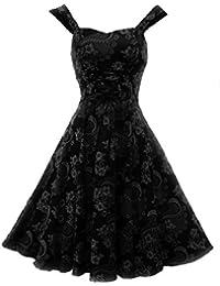 Hearts & Roses Damen Kleid Blacks