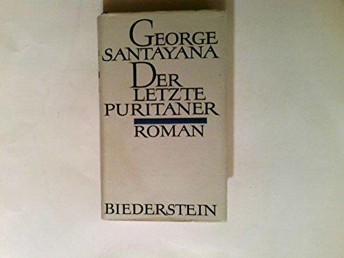 Der letzte Puritaner. roman.