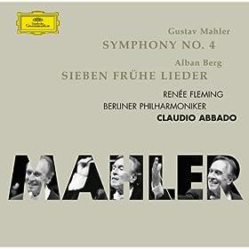 Mahler: Symphonie No.4; Berg: 7 fr�he Lieder
