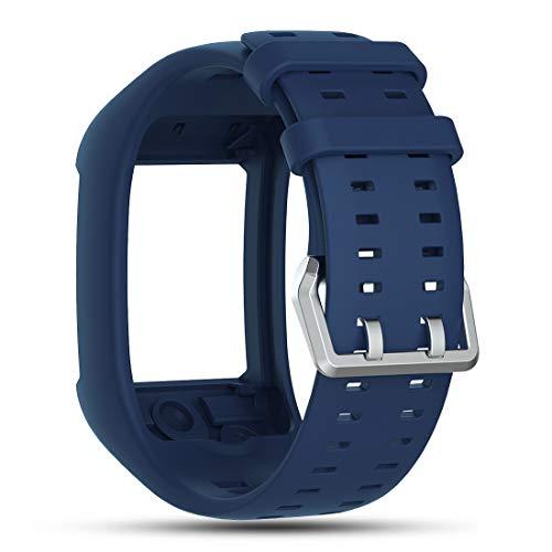 Cyeeson Polar M600 GPS Smart Uhr Replacement Armband Weiche Silikon Farbe Adustable Mischfarbe Band Gel Wristband Strap Watch Band für Polar M600 Unisex Adult GPS Running Watch