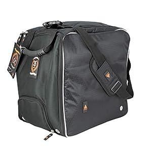 Alpenheat beheizte Schuhtasche Fire-Bootbag mit Schulter-und Rucksackträger – 25 Jahre Limitierte Sonderedition, mit 230 V und 12 V Anschluß