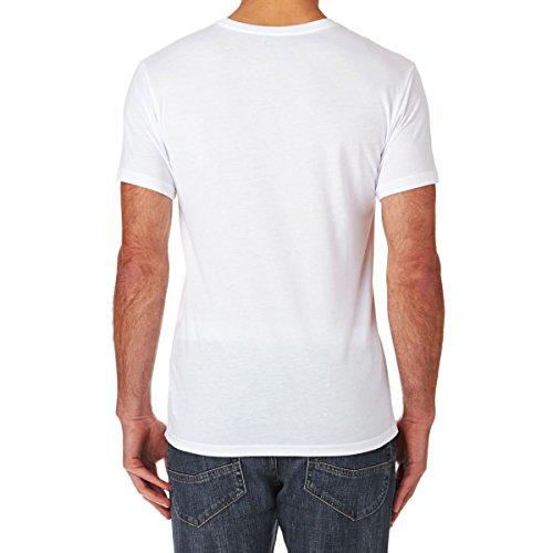 Herren T-Shirt Hurley Snakehole T-Shirt White