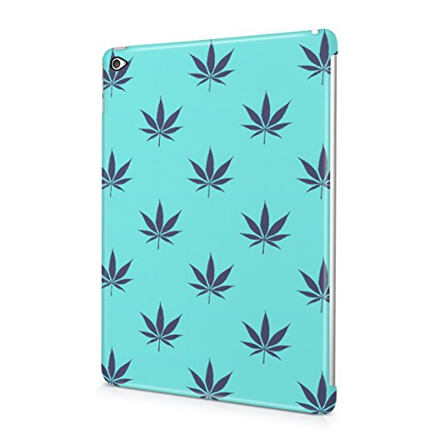 weed-marijuana-leaf-baby-blue-turquoise-pattern-plastic-snap-on-protective-case-cover-for-ipad-air-2