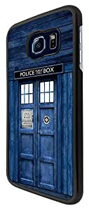 Doctor Who Tardis Police Call Box Design Samsung Galaxy S6 Edge Fashion Trend Design Coque arriere Coque Case
