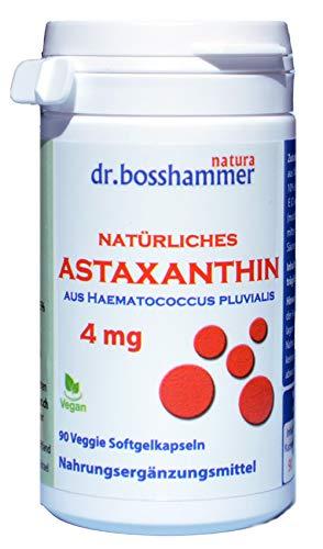 Astaxanthin 4 mg Kapseln 90 Stk. (3 Monate), vegan, ohne Magnesiumstearat, versandkostenfrei