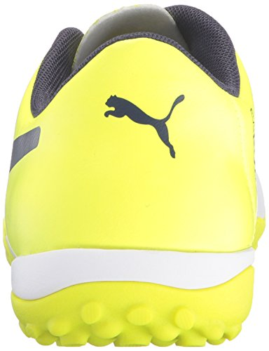 Puma Evo Power 4.3 TT Synthétique Baskets White-Peacoat-Yellow