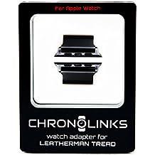 chronolinks Reloj adaptador Negro para Leatherman Tread Y Apple Watch (42mm)