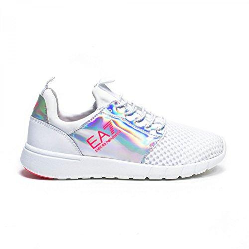 Ea7 Emporio Armani Herren Sneaker Branco