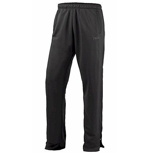 Fila Mens Sport Performance Castle Rock/White Pants Black / White