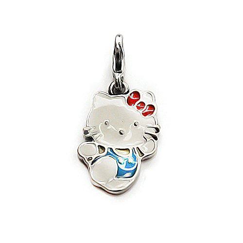 AKKi jewelry Akki Charms mit karabina Verschluss in Silber und Gold Farbe mit Verschiedene Motive Charm für Armband und Kette große Auswahl Tiere,Liebe,Herzen,Sterne,emailie CHARMS20